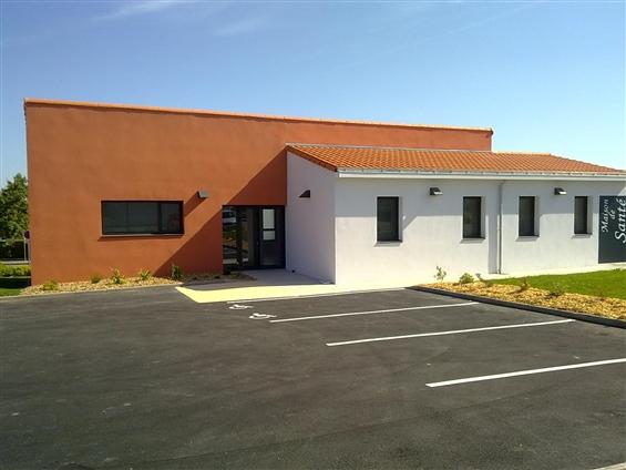 Maison de santé en collaboration avec l'atelier d'architecture KASO sur la commune de FROSSAY - 44320